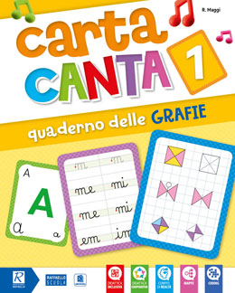 Carta Canta 1 Quaderno grafie